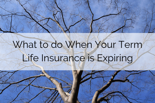 What to Do When Your Term Life Insurance Is Expiring