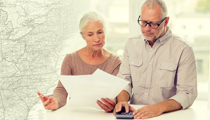 10 Least Tax-Friendly States for Retirees 2016